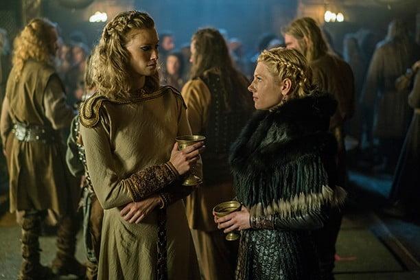 Alyssa-Sutherland-and-Katheryn-Winnick-in-Vikings