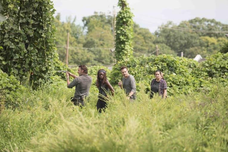 The-Walking-Dead-season-7-group-in-field