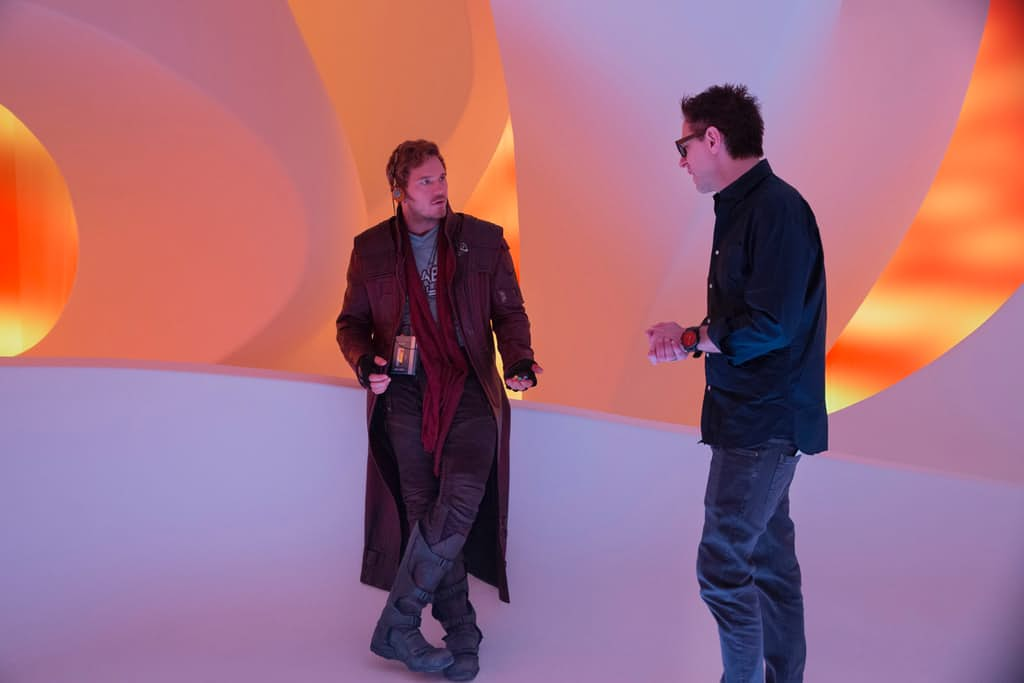 Guardians-of-the-Galaxy-2-BTS-Set-Photo-Ego-Ship-Chris-Pratt-James-Gunn