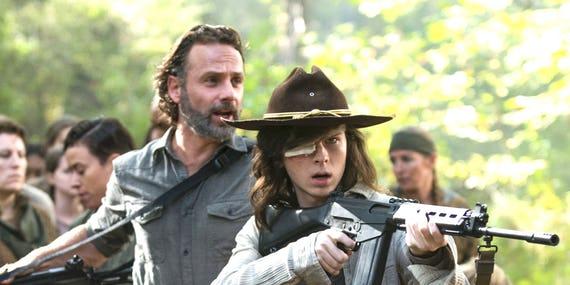 تاریخ پخش ادامهی فصل هشت سریال The Walking Dead