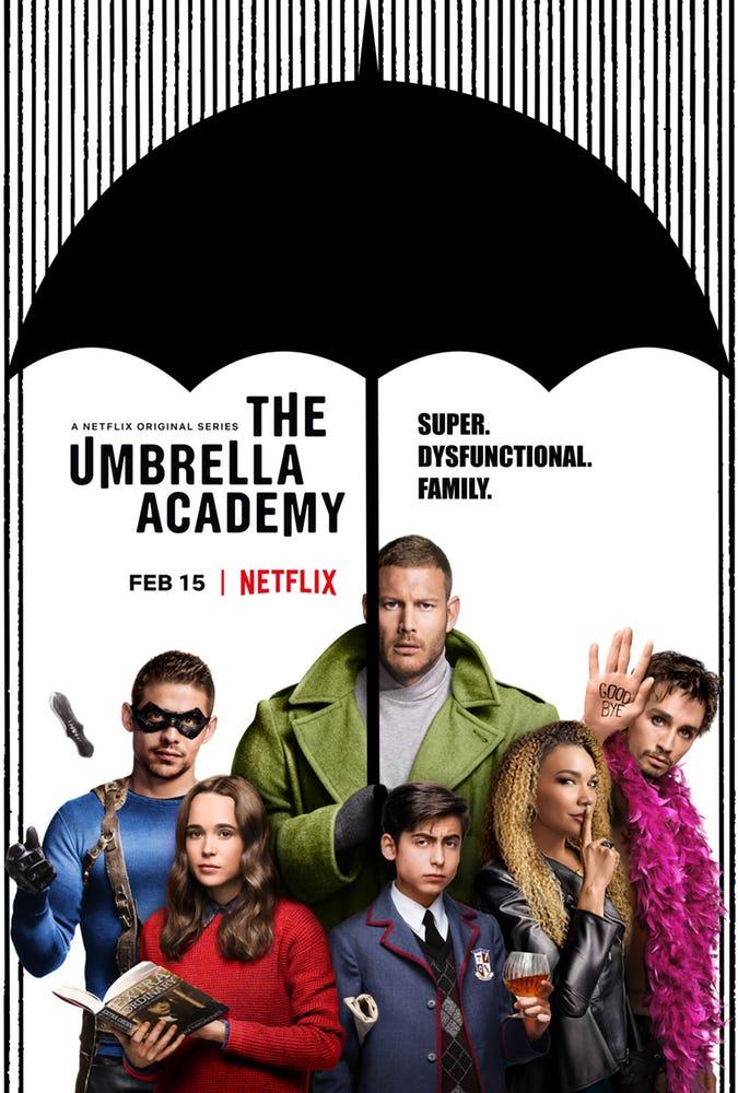 تریلر سریال جدید نتفلیکس، The Umbrella Academy، منتشر شد