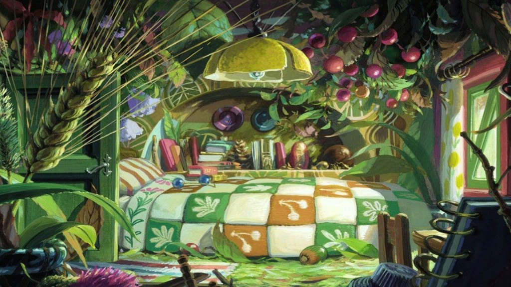 the secret world of arrietty wallpaper 3
