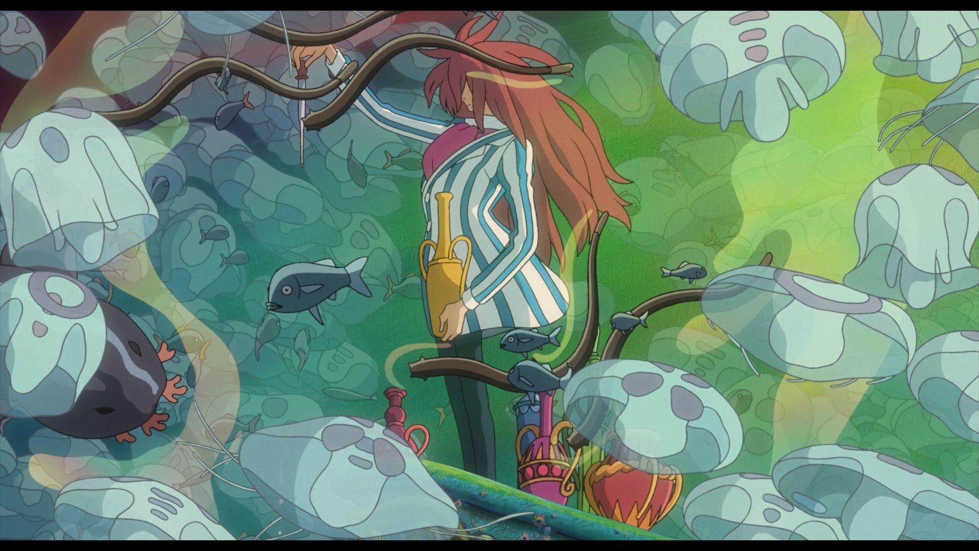 Ponyo wallpaper 3