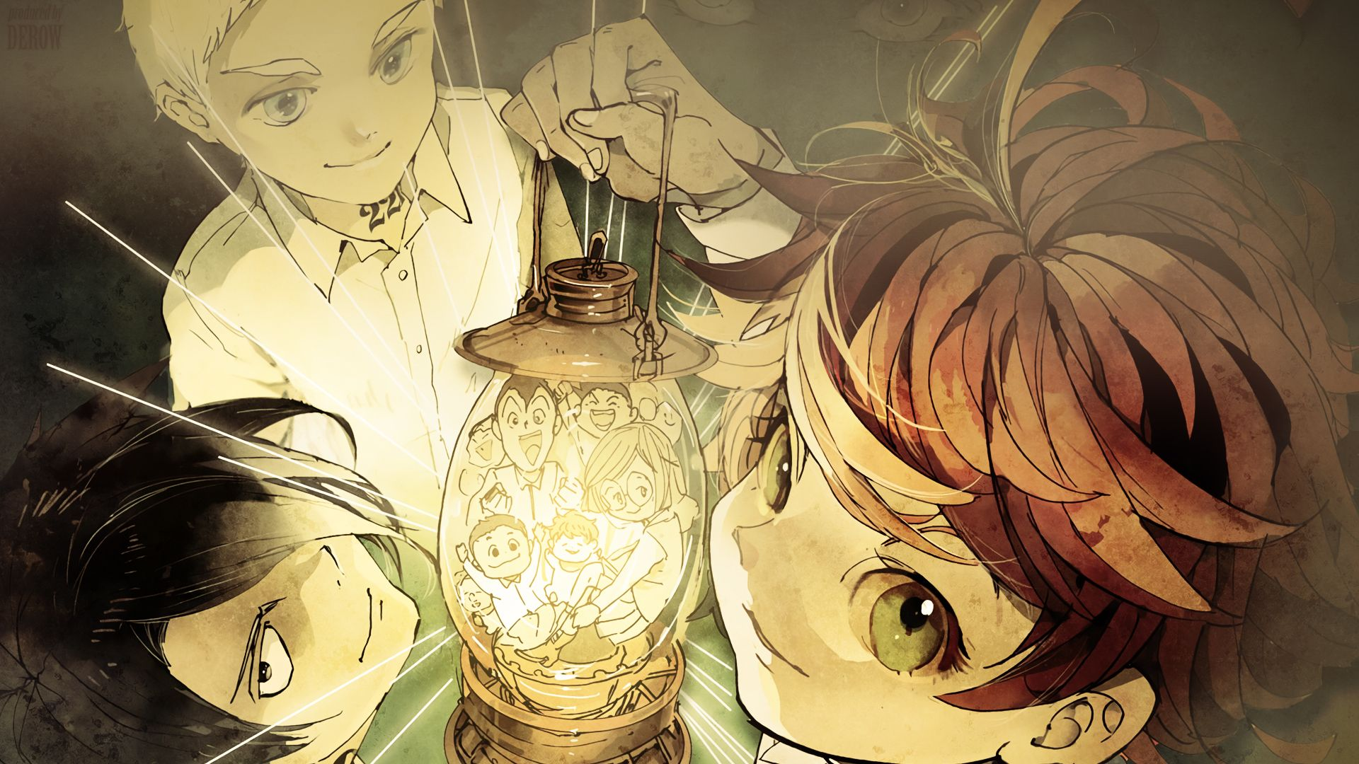 the promised neverland wallpaper 2