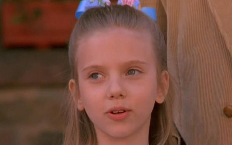 اسکارلت جوهانسون در 13 سالگی