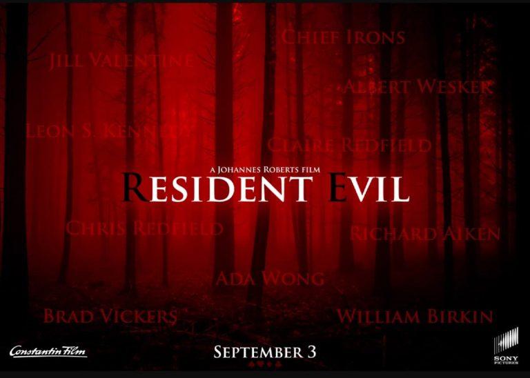 پوستری از جهان تاریکی های Resident Evil!