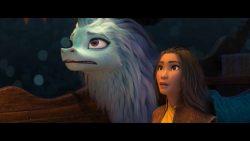 نقد و بررسی انیمیشن raya and the last dragon