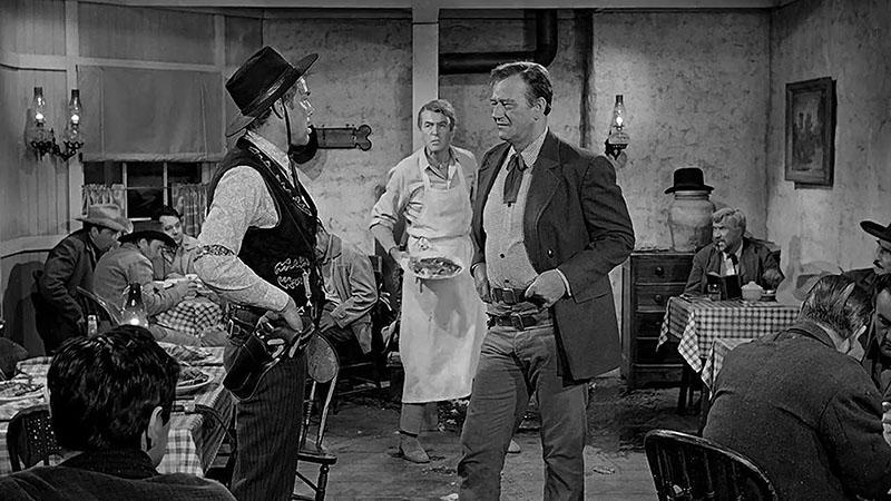 نمایی از فیلم مردی که لیبرتی والانس را کشت