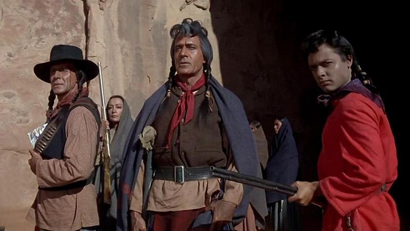 نمایی از فیلم پاییز قبیله شاین