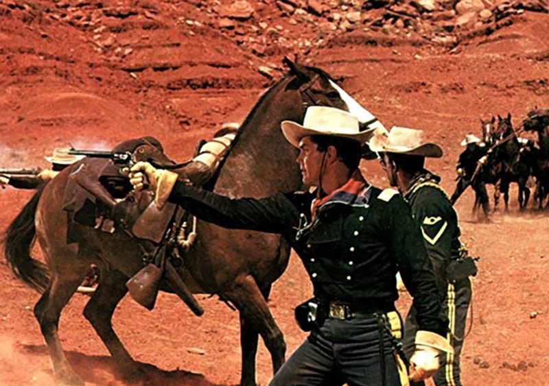 نمایی از فیلم گروهبان راتلیج