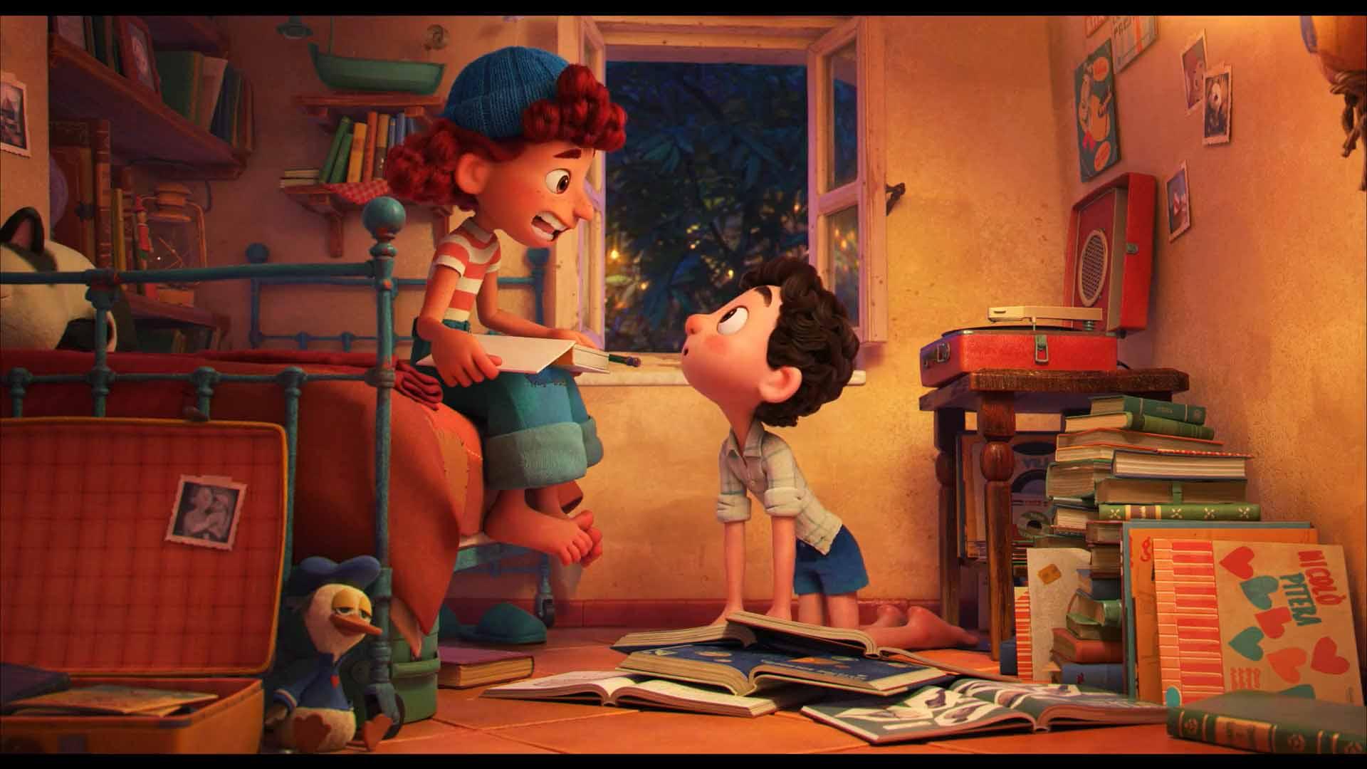 ساکت شو برونو! نقد و بررسی انیمیشن luca