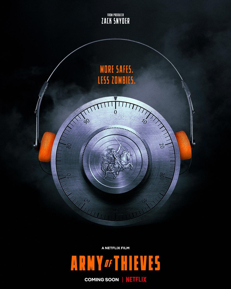 نخستین پوستر فیلم ارتش دزدان (Army of Thieves)