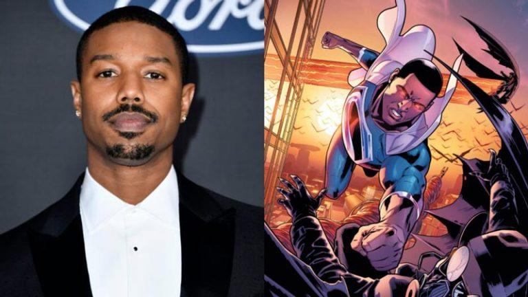مایکل بی. جردن سریال سوپرمن سیاه پوست را می سازد