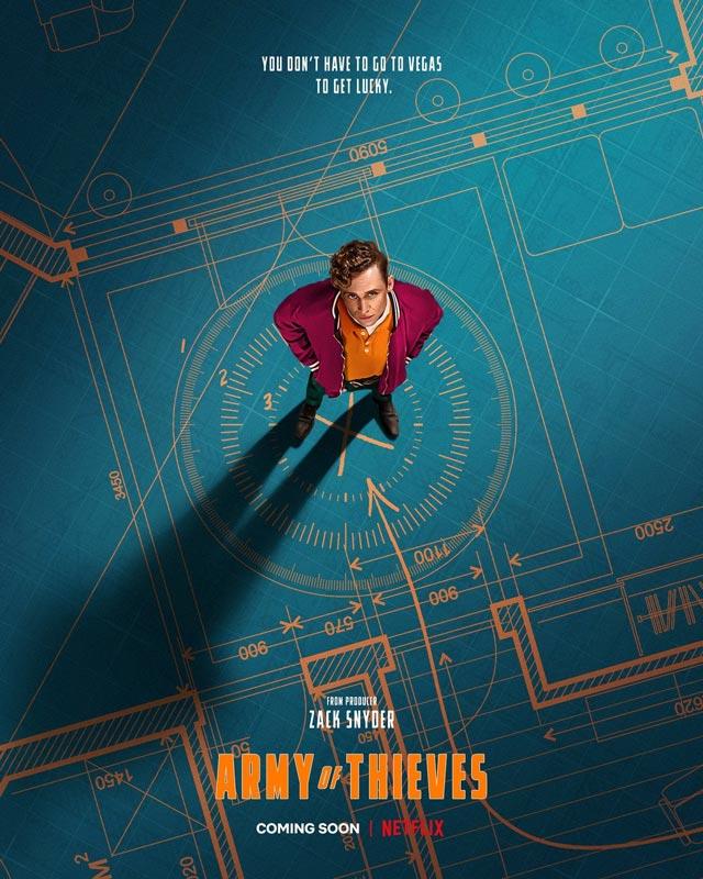 پوستر جدید فیلم ارتش دزدان