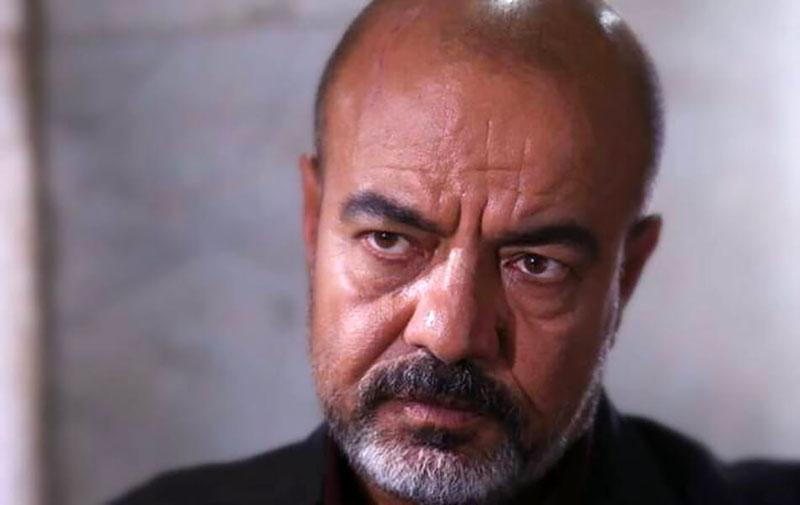 سعید آقاخانی در نقش فضلی در نمایی از فیلم خون شد