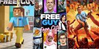 پوسترهای جذاب فیلم Free Guy با الگوبرداری از بازی های مطرح