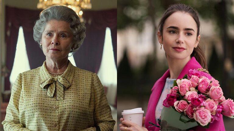 تاریخ پخش فصل پنجم The Crown و فصل دوم Emily in Paris مشخص شد
