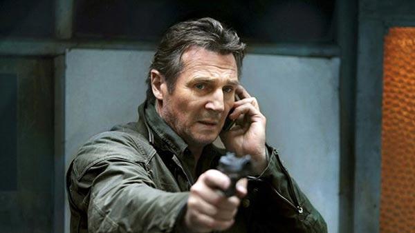 لیام نیسون در فیلم ربوده شده.