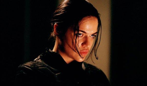میشل رودریگز در فیلم رزیدنت ایول.
