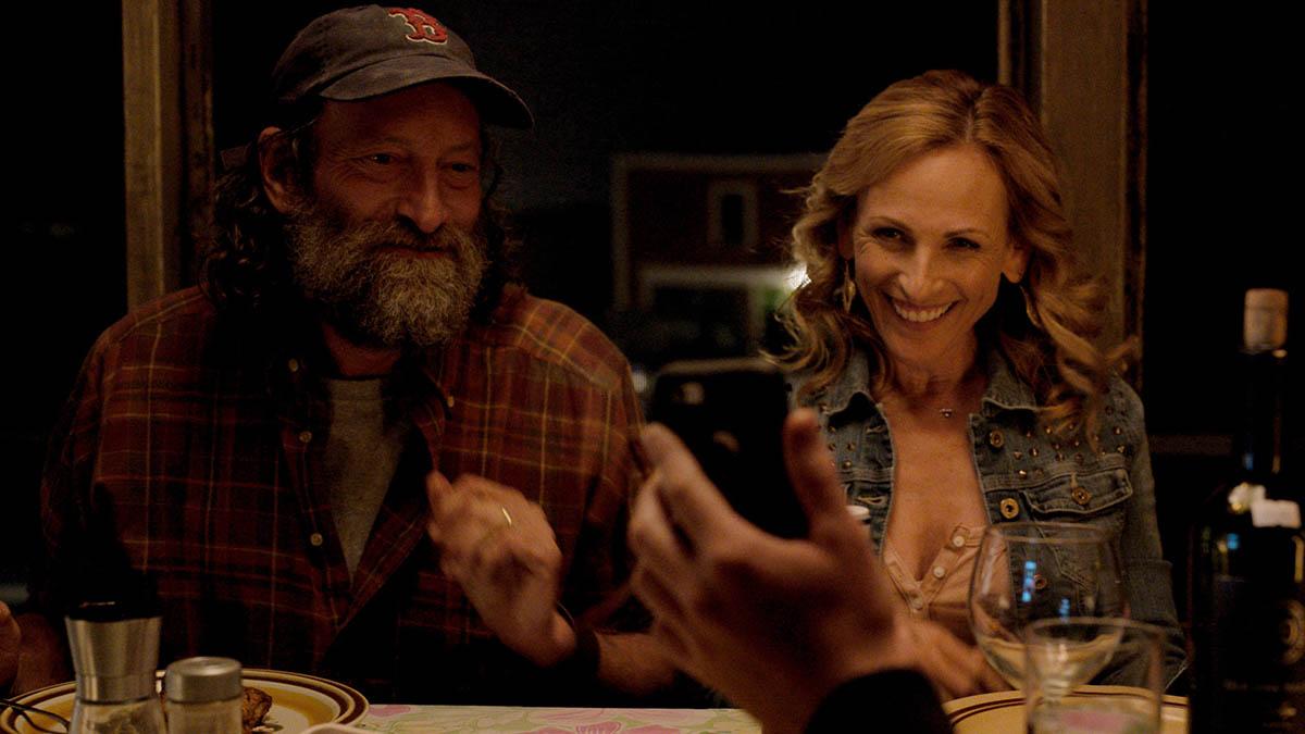 فرانک و همسرش در فیلم کودا