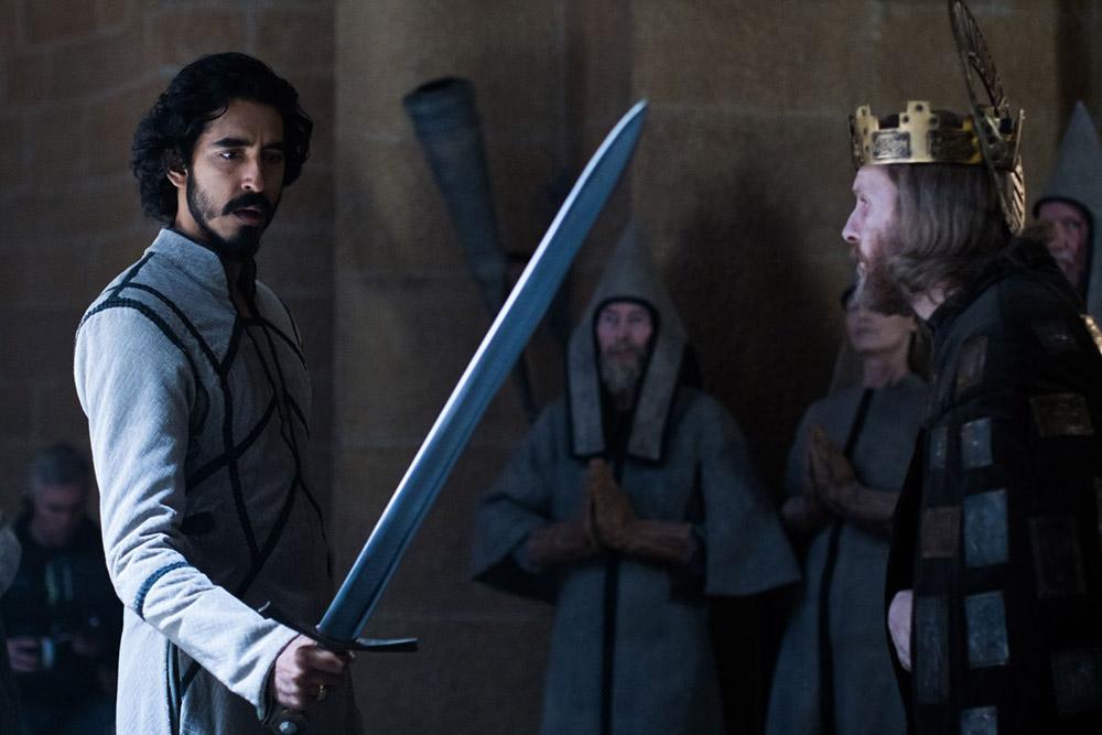 گاوائین و پادشاه در فیلم شوالیه سبز