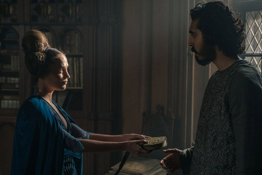 گاوائین و بانو در فیلم شوالیه سبز