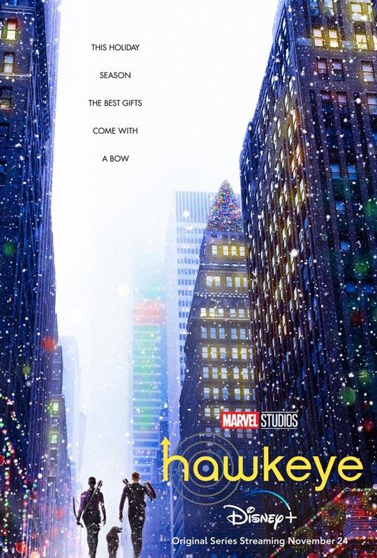پوستر سریال ابرقهرمانی Hawkeye