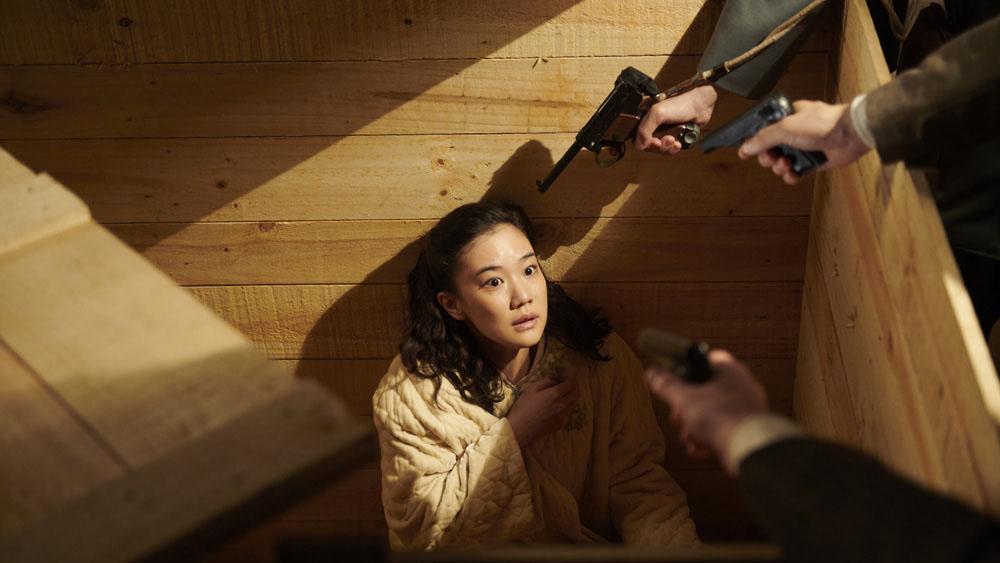جان تاسوکو در خطر است در فیلم همسر یک جاسوس