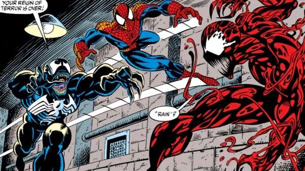 مرد عنکبوتی، ونوم و کارنیج