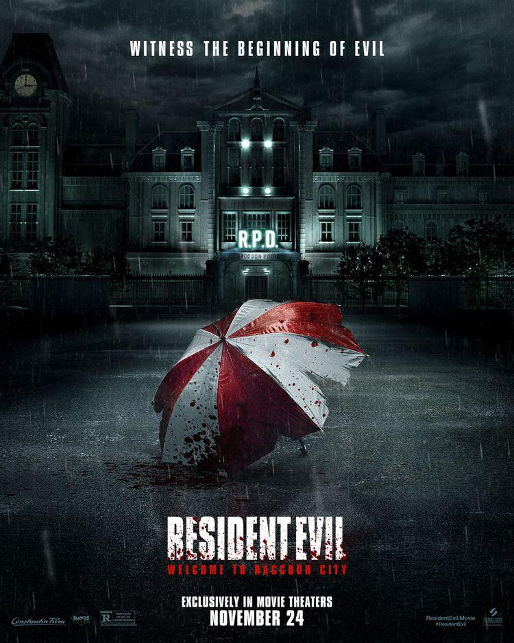 پوستر فیلم Resident Evil: Welcome to Raccoon City